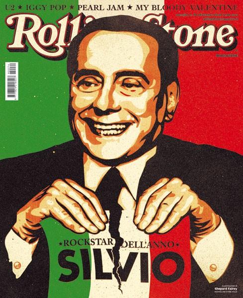Berlusconi-Cover © Rolling Stone Italia, 12-09 // Bild © Rolling Stone