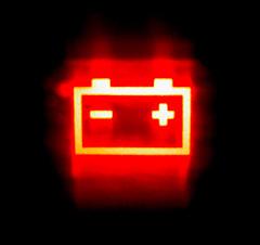 Kontrollleuchte Autobatterie © flickr.com / AndyArmstrong
