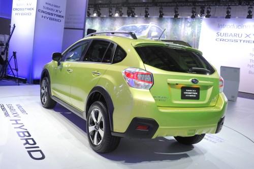 Subaru XV Crosstrek Heckansicht © UnitedPictures/Auto-Reporter.NET