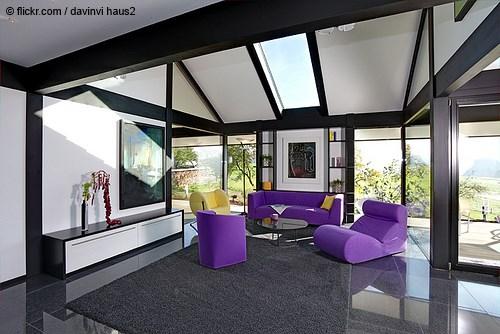 modernes Wohnzimmer © flickr.com / davinci haus2